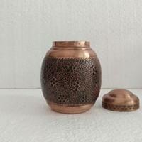 茶叶罐铜茶具